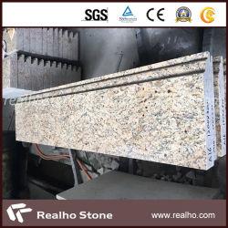 Bianco/grigio naturale/nero/punti gialli del granito con il buon prezzo