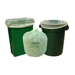 En13432 sacchetto concimabile dei sacchetti biodegradabili usato rifiuti dell'immondizia di PLA Pbat D2w