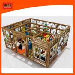 Facili usati casa del banco installano i giocattoli del gioco dei capretti del campo da giuoco