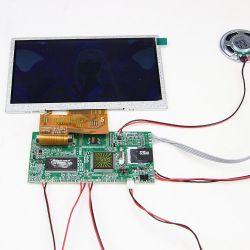 """7 """" Affichage TFT LCD Lecteur MP3 USB Module vidéo pour cartes de voeux"""