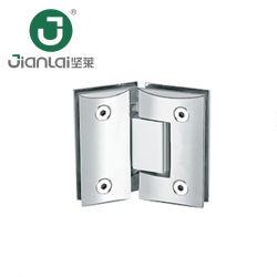 Commerce de gros Frameless verre Salle de bains avec douche en acier inoxydable de la charnière de porte