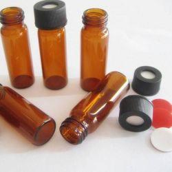 زجاجة زجاج ملون كهرمانية الشكل (Autosampler)