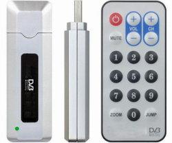 Receptor DVB-T com antena & Controle Remoto (UDT-7002)