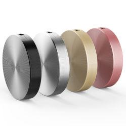 aleación de aluminio de alta calidad ronda portátil inteligente de energía móvil USB Bank como regalo