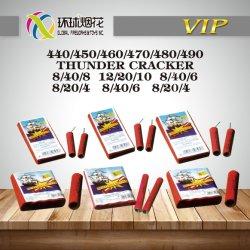 Гром взломщик 440-450-460-470-480-490 популярных классический красный громкий взломщик Firecrackers Китая