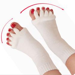 Séparateurs de haute qualité cinq Toe Socks Chaussettes sain