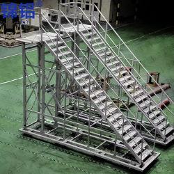 Escadas e sistema de plataforma Ascend Logistics ou setores usam
