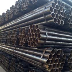 Rmeg Negro Tubo de acero ASTM A53 GB/T 3091 Material de construcción