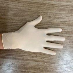 Одноразовые перчатки из латекса медицинского обследования латексные перчатки белого цвета