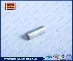 Soudage explosive de la plaque de cuivre à revêtement aluminium/feuille