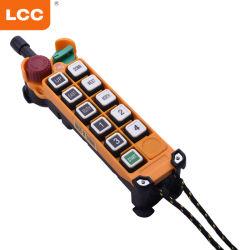 Tasto di F24-10s 10 220 volt di rf senza fili fuori dal regolatore elettrico industriale del periferico della gru dell'interruttore