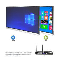 T6-serie Nesting 75 inch past helderheid Infrarood Zero automatisch aan Breng het LCD-scherm met Super Metal Texture-aanraakscherm aan op Windows En Android-systeem
