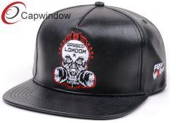 PU Cap chapeau en cuir avec des hommes Chapeaux Chapeaux brodés