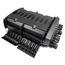24 Core 2 en 2 dans l'épissure à fibre optique de ligne de la fermeture de l'équipement à fibre optique