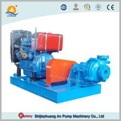 Ensemble de la pompe entraînée par le moteur diesel ou de la boue de l'assèchement de la pompe d'alimentation