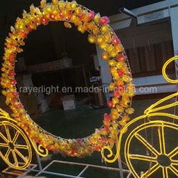 제 2 결혼식 훈장 아이디어가 주제 점화에 의하여 LED Carraige 점화한다