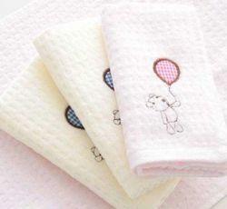 precio de fábrica de bordados Hotel SPA Facial toalla (JRD274)