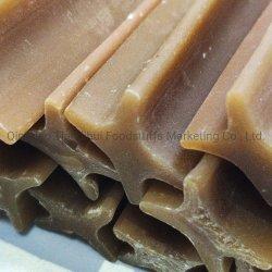 Tdh 맛있은 자연적인 고품질 애완 동물 먹이 개 식사 교차하는 꽃 모양 치과 지팡이 제조자