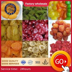 中国産の最高品質のドライフルーツ:キーウィ、アップルリング、ストロベリー、クムクアット、チェリー保存フルーツ
