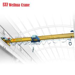 Weihua HD de 5 toneladas estándar Europeo solo eléctrico viga viaja Grúa Span 10,5m de altura de elevación 8M