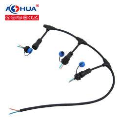 Tipo esterno spina impermeabile della giuntura T del cavo del LED