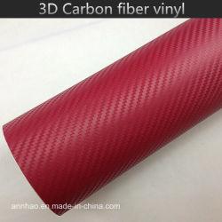 Decoratie Auto Stickers 3D Carbon glasvezel Vinyl Carbon glasvezel Vinyl Wikkelen