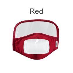 LippenFacemask entnebelnder Druck passte Haustier-transparenten Gesichts-Deckel für Adults&Children taub-stummes Facemasks personifiziertes Schild an