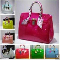 Guangzhou fábrica de caramelos Jelly Beachkin Colores personalizados bolsos Dama (XP1067)