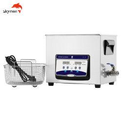 10L Tipo Sobremesa Limpiador ultrasónico con función de calefacción de la función de barrido