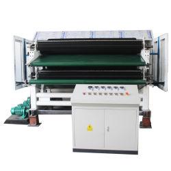 Macchina di cardatura non tessuta di Doffer del doppio del cilindro della fibra di graffetta di capacità elevata singola per la fabbricazione dei Nonwovens