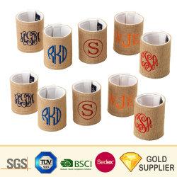 3D Ecofreidly personalizado de aquecimento por sublimação de elemento de aquecimento descartáveis de papel em neoprene da cintagem da capa de borracha de silicone de café caneca de cerâmica mangas protetoras o Refrigerador de Garrafas