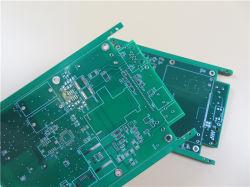6 слоя HASL печатной платы на базе Fr-4 с зелеными припоя подсети