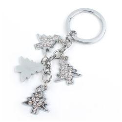水晶が付いている昇進の方法デザインラインストーンのキーホルダー