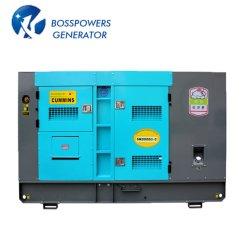 60Hz 50Hz 100kVA 500kVA 1000kVA 3組の段階のCumminsパーキンズYanmarリカルド電気生成セットは無声防音のディーゼル発電機を開く