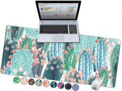 習慣によって印刷される涼しいコンピュータの大きい賭博のマウスパッド