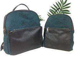 2021 женщин сумку для больших возможностей ноутбука моды провод фиолетового цвета кожи брелоки из микроволокна плечо сумку рюкзак для леди