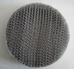 구축된 금속 관통되는 격판덮개 물결 모양 패킹 (Mellapak 패킹)