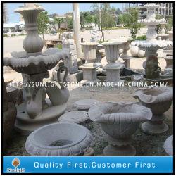 Piedra natural (el mármol Granito/) Maceta florero/