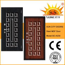 باب درع من الفولاذ / باب خشبي (SC-A230)