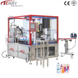 Bouteille de multifonction rotatoire liquide automatique de remplissage et de la machine de production de plafonnement