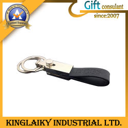 High-End Leather Chain voor Promotional Gift met Logo (kkr-002)