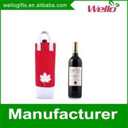 Bouteille de vin en toile sac cadeau d'emballage