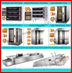Pão de estanho convecção de gases industriais / Deck / contactor rotativo no forno assar pão & equipamentos de panificação