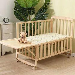 단단한 나무 디자이너 확장 가능한 아기 어린이 침대 또는 아기 침대 또는 아기 간이 침대
