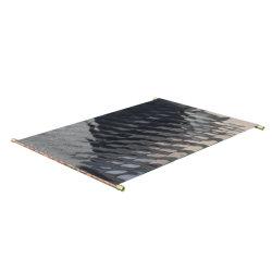 Плоская пластина для нагрева воды солнечной стойки к поворотному кулаку алюминиевый лист