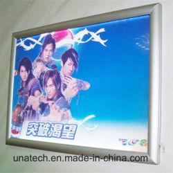 Metro busstation Beeldreclame Media Aluminium metalen Snap Frame LGP LED-lichtkast