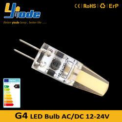 لمبة LED ثنائية المسمار G4 بجهد 12 فولت وبقوة 24 فولت قابلة للتخفيت استبدل مصباح الهالوجين G4