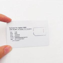 بطاقة SIM للاختبار عبر GSM / WCDMA / D-SCDMA / LTE AG8960 (فتحة 2FF/3FF/4FF)