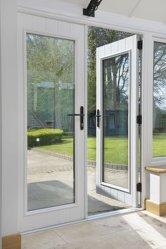 Mondern алюминиевых дверей по-французски двери Snow White красивые двери