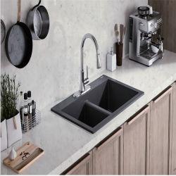 بيضاء عرق مرح مطبخ [كوترتوب] تفاهة أعلى مهندسة حجارة [كونترتوب]